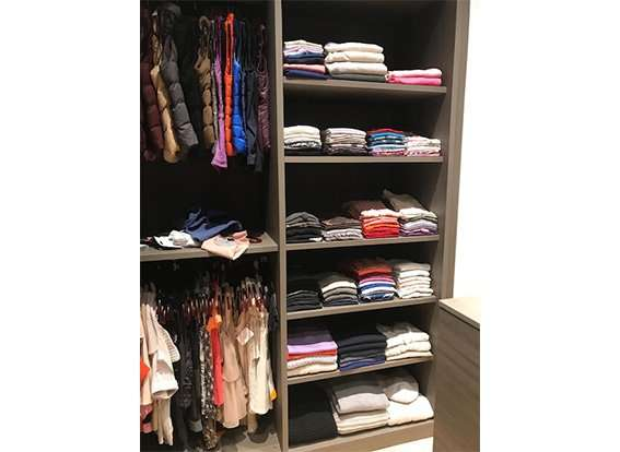 Child's closet