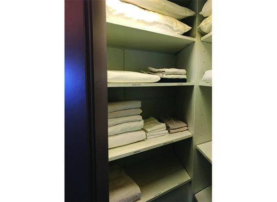 Linen hall closet