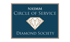 NASMM Circle of Service Diamond Society
